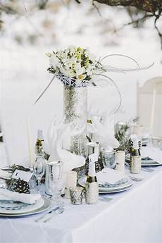 Top 20 Tablescape Ideas For Winter Wedding Table Mariage