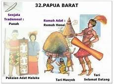 34 Nama Rumah Adat Pakaian Tarian Adat Dan Senjata