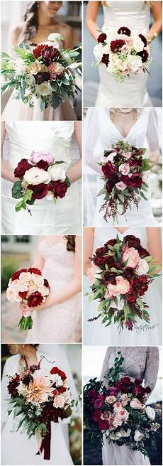 16 elegant burgundy and blush wedding bouquet ideas wedding bouquets burgundy blush wedding