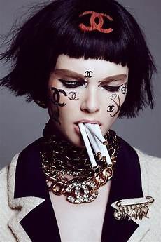 chanel in no tofu magazine chanel exclusive editorial shoot
