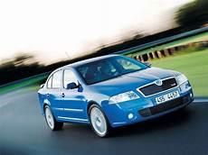 Skoda Octavia Rs Blue Colour Car Pictures Images