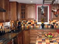 ceramic tile backsplashes hgtv