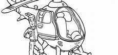 Ausmalbilder Feuerwehrmann Sam Hubschrauber Hund 7 Ausmalen