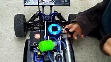 how to start a nitro rc car