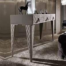 high end luxury italian quilted nubuck dressing table