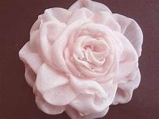Blumen Aus Stoff Basteln - diy stoff blumen selber machen stoffblume