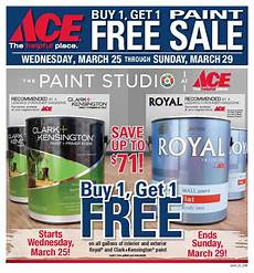 ace hardware paint sale ad the