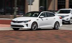 Kia Optima Review Car And Driver 2017 kia optima safety and driver assistance review