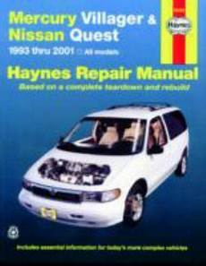 free auto repair manuals 1993 mercury villager electronic toll collection 1993 2001 haynes mercury villager nissan quest repair manual 38345642005 ebay