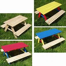 Kindersitzgruppe Garten Holz - kindersitzgruppe 4 sitzer kinder sitzgarnitur kindertisch