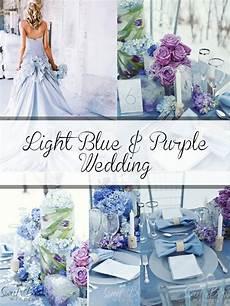 Baby Blue And Purple Wedding Ideas