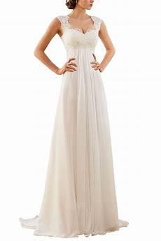 erosebridal 2016 new sleeveless lace chiffon wedding dress bridal gown size 14 ivory at amazon