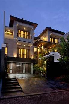 contemporary home style by bb tropical balinese modern house architizer