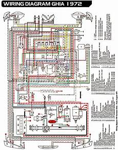 1972 vw thing wiring diagram electrical equipment