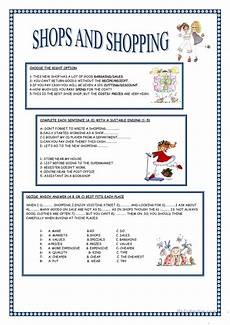 worksheets shopping 18462 shops and shopping esl worksheets for distance learning and physical classrooms