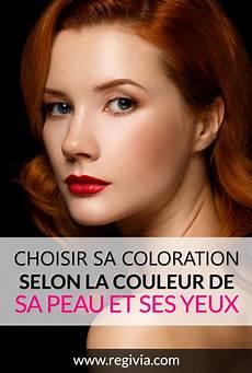 Coloration Femme Comment Choisir Sa Couleur De Cheveux