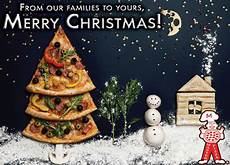merry christmas from master pizza