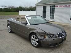 Audi A4 For Sale by 2006 Audi A4 1 8 Turbo Convertible Salvage For Sale