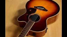 yamaha fsx720sc acoustic electric guitar demo