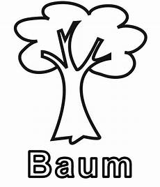 Kostenlose Malvorlagen Baum Baum Zum Ausmalen Newtemp