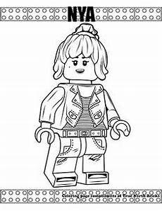 Ausmalbilder Lego Ninjago Nya Coloring Page Green Arrow Free Lego Coloring Pages