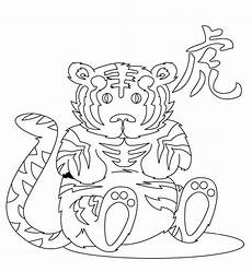 Malvorlagen Tiger Motor Printable Tigers Coloring Pages Picture