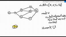 Count Number Of Paths Between Two Nodes | 081 graph count number of paths between two nodes theory youtube