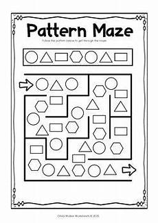 copying patterns worksheet for kindergarten 325 patterns copy create and complete the pattern kindergarten and grade one with images