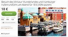 Miniatur Wunderland Gutschein Tickets G 252 Nstiger Kaufen