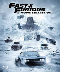 Fast Furious 8 Collection 8 Disc Set