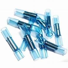 10 stossverbinder blau f 252 r 1 5 2 5mm 178 schrumpfbar