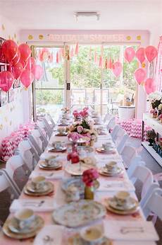 a glittering pink high tea shower in sydney australia ultimate bridesmaid