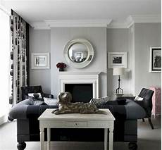 Home Decor Ideas For Living Room With Black Sofa by Black And White Living Room Decor Black And White Living