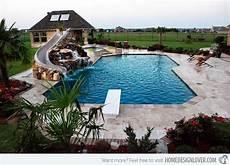 Pool Rutsche Selber Bauen - 15 beautiful swimming pool slides interior design wiki