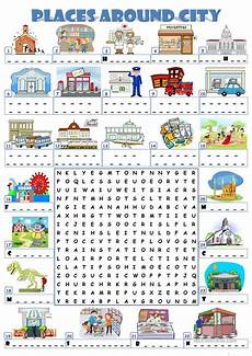 places exercises worksheets 15986 city places wordsearch worksheet free esl printable worksheets made by teachers