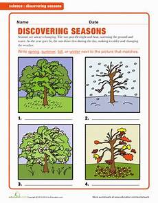 worksheets on seasons for grade 2 14834 the four seasons worksheet education