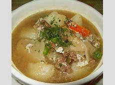 Eating Chilean: Eating Chilean Pantrucas?noodles