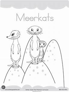 animals and their coloring pages 17201 meerkat coloring pages printable for colouring pages coloring pages animal