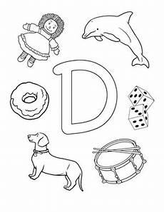 d is for worksheet education com