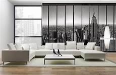 Penthouse Papier Peint Trompe L Oeil New York Salon