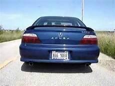 2002 acura tl type s stock exhaust youtube
