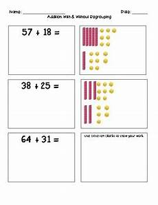 subtraction with regrouping worksheets with base ten blocks 10608 addition and subtraction using base ten blocks by smiles in second grade