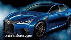 lexus is sedan v6 f sport 2020
