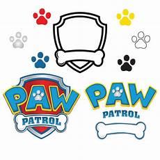 Paw Patrol Logo Malvorlagen Paw Patrol Svg Paw Patrol Logo Clip In Digital Format