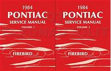 1984 pontiac firebird trans am repair shop manual 1984 firebird shop manual 84 pontiac trans am service repair book ebay