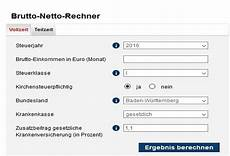 brutto netto rechner web app freeware de