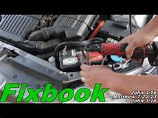 accessory battery replacement quot how to quot honda civic hybrid