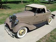 A 1934 Ford Model 40 DeLuxe Roadster Cracks The Top 10 In