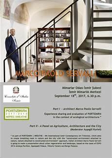consolato italiano izmir conferenza ad izmir dell architetto marco paolo servalli