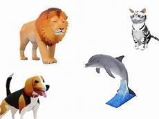Papercraft Tiere Ii Chip